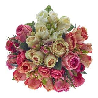 Rosenstrauß, diverse Farben, L: 30 cm