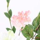 Rosenzweig, Rosa, Schaumstoff, L: 45 cm