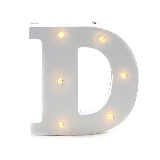 """LED Buchstabe """"D"""""""
