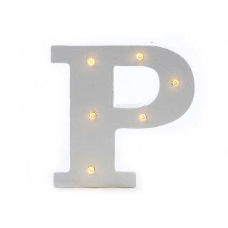 "LED Buchstabe ""P"""