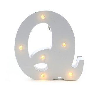 "LED Buchstabe ""Q"""