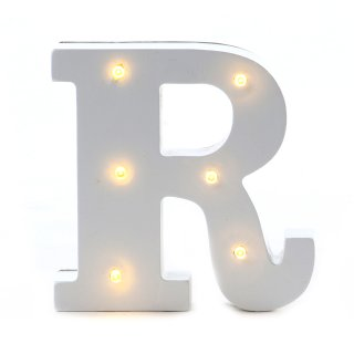 "LED Buchstabe ""R"""