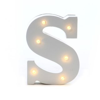 """LED Buchstabe """"S"""""""