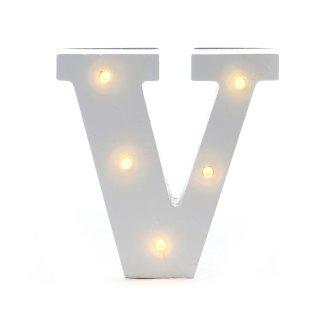 """LED Buchstabe """"V"""""""