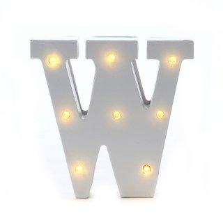 """LED Buchstabe """"W"""""""