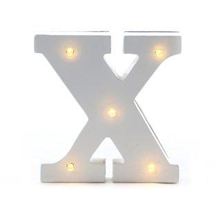 "LED Buchstabe ""X"""