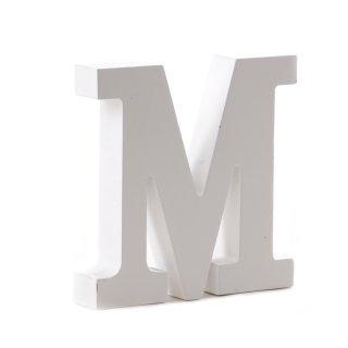 """Holz-Buchstabe """"M"""""""