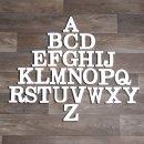 "Holz-Buchstabe ""Q"""