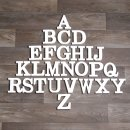 """Holz-Buchstabe """"Z"""""""