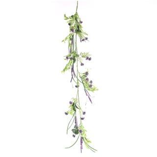 Lavendel Girlande künstlich
