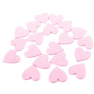 Gästebuch-Herzen rosa
