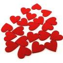 Gästebuch-Herzen rot