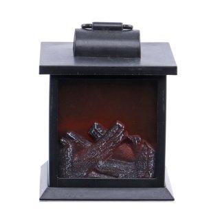 Laterne mit Feueranimation Variante 1