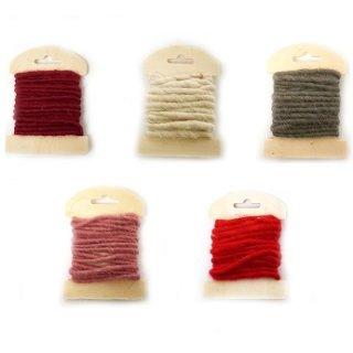 Farbige Kordel in verschiedenen Farben