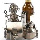 """Bierflaschenhalter """"Roller mit Beiwagen"""""""