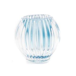 Kerzenglas blau