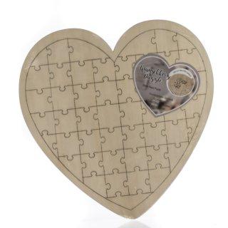Wunsch-Herz-Puzzle