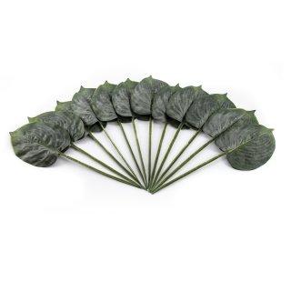 Künstliche Palmenblätter im 12er Set