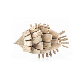Maritime Holz-Fisch Figur