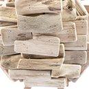 Maritime Holz-Krebs Figur