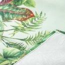 Tropischer Tischläufer 40 x 160 cm aus Polyester