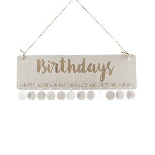 Geburtstags-Planer
