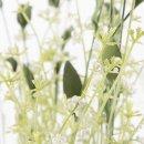 Deko-Feldblume Lavendeloptik weiß im 2er Set