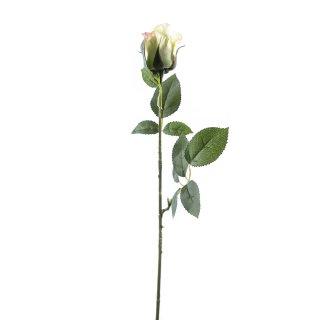 Kunst-Blume Rose zartgrün