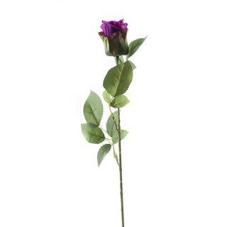 Kunst-Blume Rose violett