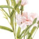 Kunst-Blume Nelke rosa
