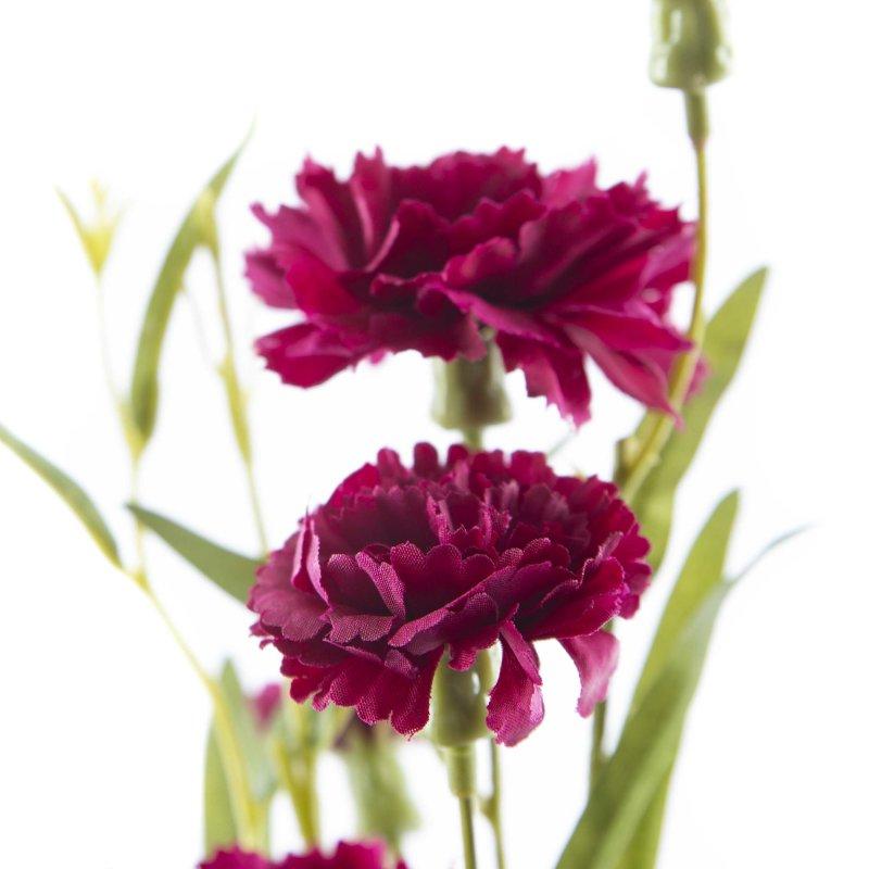 Außergewöhnlich Kunst-Blume Nelke violett, 3,50 € #KL_74