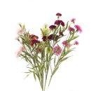 Kunst-Blume Nelke violett