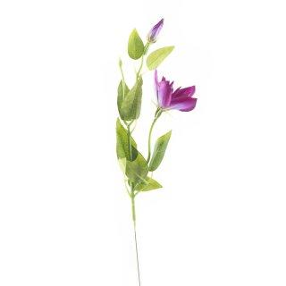 Kunst-Blume Clematis pink