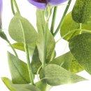 Kunst-Blume Clematis violett
