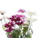 Kunst-Blume Chrysantheme Pink
