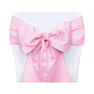 Stuhl-Schärpen Schleifen rosa 10 Stück
