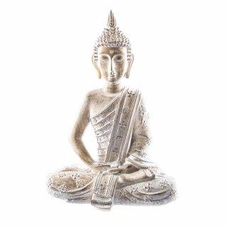 Buddha Deko-Figur mit Orientalischem Muster