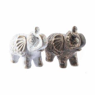 Mini Elefanten Figuren in verschiedenen Farben