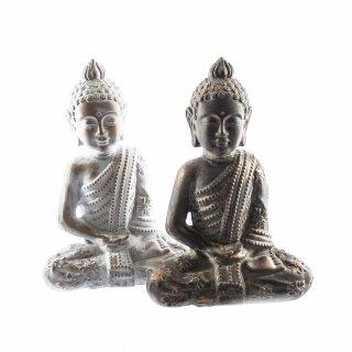 Große Buddha Figuren in verschiedenen Farben