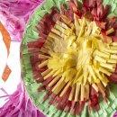 Pinata Mexikanischer Stern bunt für Geburtstage Partys