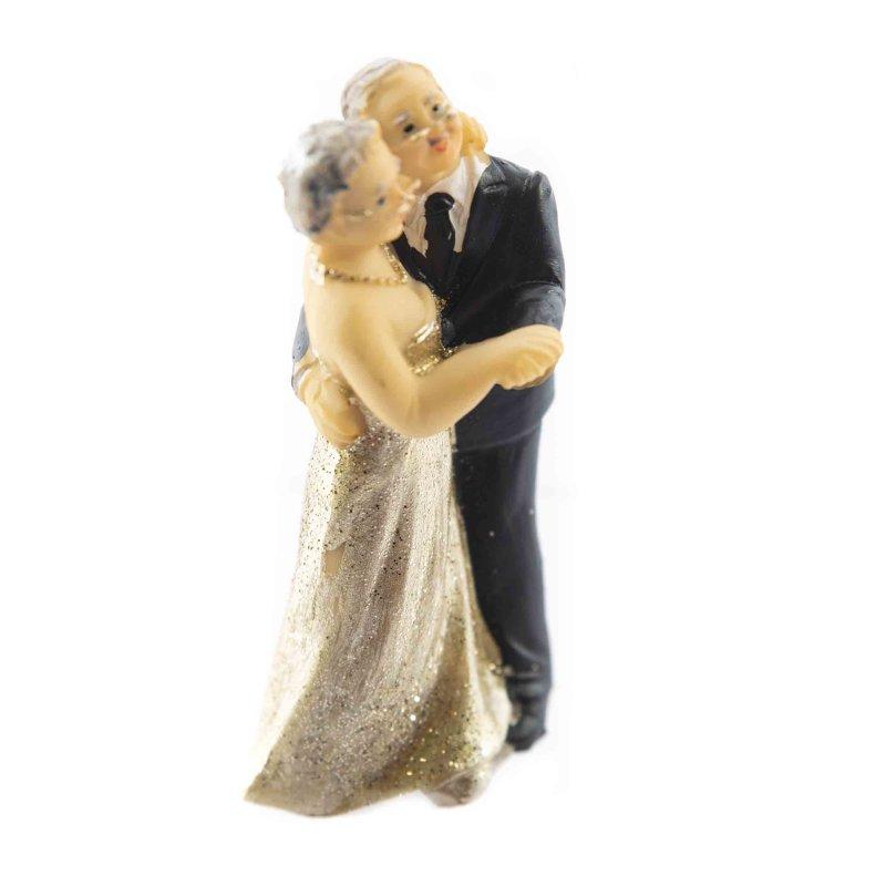 Kleine Figuren Zur Gold Hochzeit 12 Stück