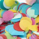 Konfetti rund und bunt im 3er Set, für Partys oder zum Befüllen von einer Pinata