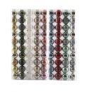 Bruchfeste Weihnachtskugeln im 10er Set verschiedene Farben