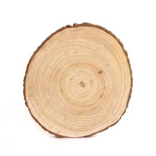 Holzscheibe groß ca. 30 cm