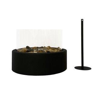 Ethanol Kamin Glas Tischbrenner mit Löschhilfe