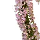 Blumenherz pastell lila