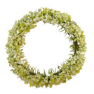 Blumenkranz hellgrün