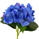Deko Hortensie blau