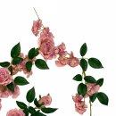 Rosengirlande Altrosa 180 cm