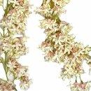 Blütengirlande creme hellrosa 165 cm